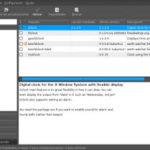 Reloj con alarma para escritorio Ubuntu Gutsy