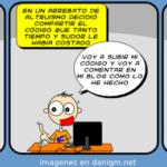 Humor, Tira Linux Hispano, Es de bien nacido el ser agradecido