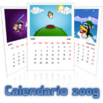 Un calendario linuxero para 2009