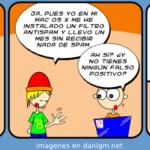 Humor, Tira Linux Hispano, falso positivo