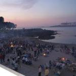 La noche de San Juan del 2010 en A Coruña