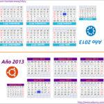 Calendario de mesa 2013