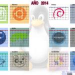 Calendarios Linuxeros para 2014
