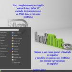 Poner el Live-dvd en español para instalar Linux Mint 17